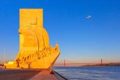 Monument aux découvertes, Lisbonne, Portugal Photos stock