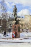 Monument aux défenseurs du ciel du ` s de la mère patrie Balashikha, microdistrict Zarya Image stock
