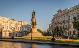 Monument aux fondateurs de la ville Ukraine d'Odessa Image libre de droits