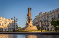 Monument aux fondateurs de la ville Ukraine d'Odessa Photographie stock