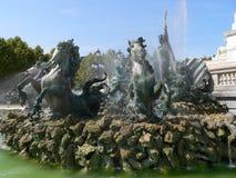 Monument aux Girondins, Bordeaux (France) Stock Photo
