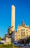 Monument aux libérateurs de Chisinau photos stock