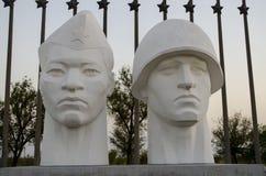Monument aux libérateurs de soldats Images libres de droits