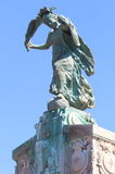 Monument aux Morts, Arles, Frankrijk stock afbeelding