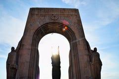 Monument aux morts d'Orient. The Monument aux morts de l'Armée d'Orient et des terres lointaines (Memorial for the members of the Army of the Orient for service Stock Photos
