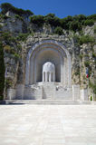 Monument Aux Morts in Nice, France Royalty Free Stock Photo