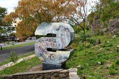 Monument av 2 Arkivbilder