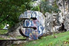 Monument av 3 Royaltyfri Fotografi
