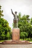 Monument av Betalu Kalmykov i Nalchik, Kabardino Royaltyfri Foto
