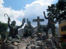 monument av danserna, Herre av Torrechayoc Arkivbilder