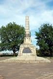 Monument av den 800. årsdagen av Vologda Royaltyfri Fotografi
