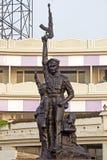 Monument av den indiska polisen i Vishakhapatnam royaltyfria bilder