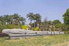 Monument av den salta mars Royaltyfria Foton