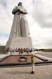 Monument av den sovjetiska okända krigare Arkivfoto