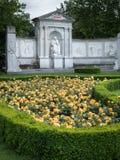 Monument av författaren Franz Grillparzer i Wien royaltyfri fotografi