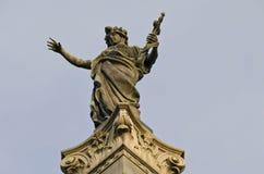 Monument av frihet i list arkivbild