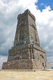Monument av frihet på det Shipka passerandet i Bulgarien Arkivfoton