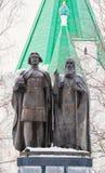 Monument av Georgy Vsevolodovich och St Simon Suzdal Royaltyfria Bilder