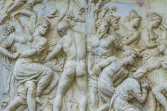 Monument av Giovanni delle Bande Nere i Florence Fotografering för Bildbyråer