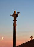 Monument av helgonet Sofia Royaltyfria Foton