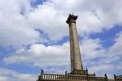 Monument av jimeiområdet Arkivbild