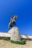 Monument av konungen Erekle II i Telavi georgia arkivfoton