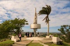 Monument av Lomoen del Capiro i Santa Clara Arkivbilder