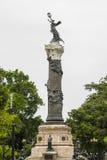 Monument av Los Proceres i plazaen Centenario Guayaquil Royaltyfri Foto