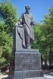 Monument av N f Filatov i Moskva Royaltyfri Fotografi