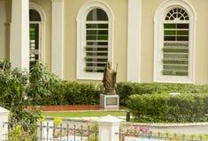 Monument av påven John Paul II i Singapore Royaltyfri Fotografi