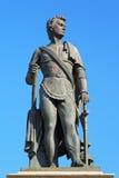 Monument av prinsen Grigory Potemkin-Tavricheski i Kherson, Ukra arkivfoto
