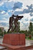 Monument av segern Arkivfoto