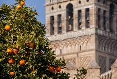 Monument av Seville, Andalusia Arkivfoton