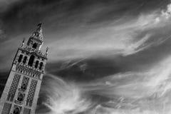 Monument av Seville, Andalusia Royaltyfria Foton