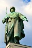 Monument av sovjetsoldater i Berlin, Tyskland Arkivbilder