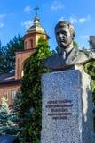 Monument av Vasyl Ignatenko i Kyiv royaltyfria foton