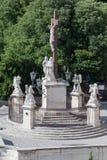 Monument Avignons Provence Frankreich Stockfotografie