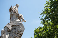 Monument in Barcelona Royalty Free Stock Photography