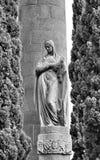 Monument in Barcelona Stock Photos