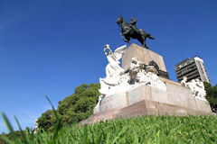 Monument of Bartolome Mitre in Buenos Aires Stock Photos