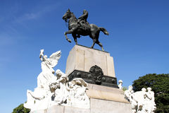 Monument of Bartolome Mitre in Buenos Aires Stock Photo