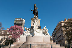 Monument of Bartolome Mitre, Buenos Aires Argentinien Stock Image