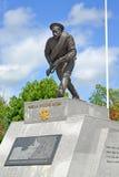 Monument Bayonet attack in Kaliningrad region. Summer Royalty Free Stock Photos