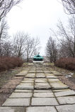 Monument-Behälter IS-3M Lizenzfreies Stockbild