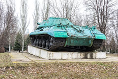 Monument-behållare IS-3M Fotografering för Bildbyråer