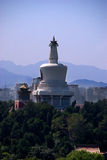 Monument Beijing. Beijing cityview with a large tower Royalty Free Stock Image