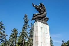 Monument in Belgrade Stock Photo