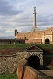 Monument of Belgrade winner,Kalemegdan fortess in Belgrade Royalty Free Stock Photos