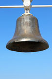 Monument bell in Odessa seaport. Ukraine Royalty Free Stock Images