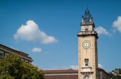 Monument in Bergamo Stock Photography